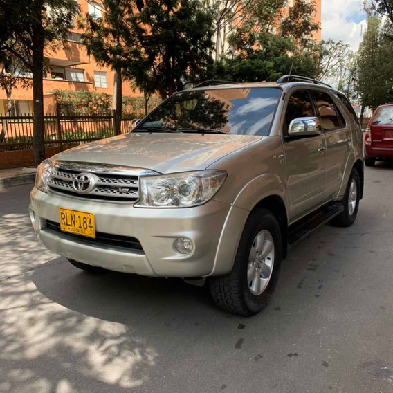 Toyota Fortuner Blindada 2 Plus Sr5 4.0 Gasolina Impecable