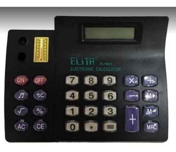 Calculadora Kenko Grande 8 Digitos Preta Usada Semi-nova