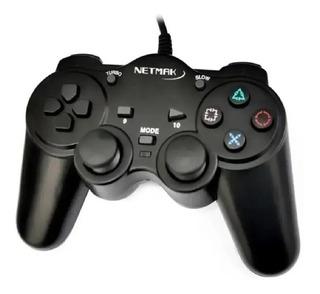 Joystick Gamepad Para Pc Doble Vibración Nm-2007u