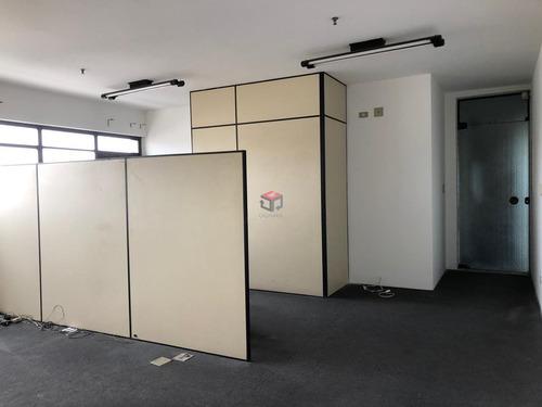 Imagem 1 de 16 de Torre Única, Sala Com Banheiro, Ar Condicionado, Divisórias Para 2 Salas E 1 Vaga De Garagem. - 98026