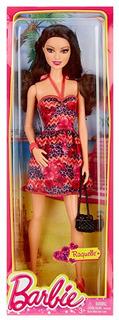 Barbie Fashionista Muñeca Raquelle Color Rosa Y Morado Vesti