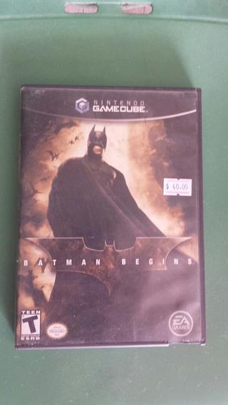 Game Cube Jogo : Batman Begins/ Disco Dando Erro