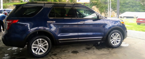 Ford Explorer 2012 4x4 Con Laminas De Seguridad Anti-impacto