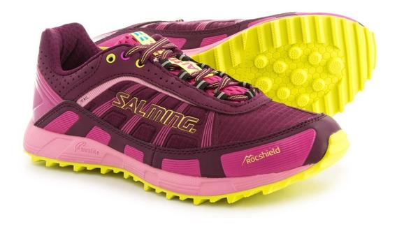 Zapatillas Running Correr Salming Trail T3 Mujer Montaña