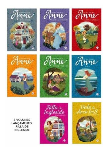 Livros Anne De Green Gables Anne With An E Box C/ 10 Livros