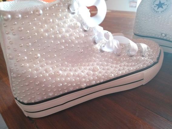 Zapatillas Para 15 Años Diseño Exclusivo.