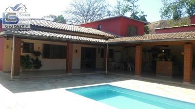 Chácara Para Venda Em Socorro, Zona Rural, 5 Dormitórios, 3 Suítes, 6 Banheiros, 10 Vagas - 567