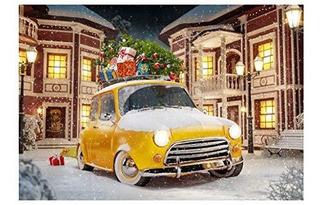 Telones De Fondo De Fotografia De Navidad 7x5 Pies El Dia De