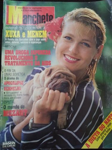 Revista Manchete 2071 Dezembro 1991 Xuxa