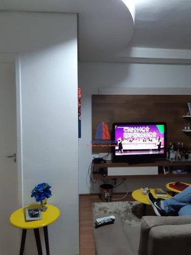 Cobertura Com 2 Dormitórios À Venda, 140 M² Por R$ 380.000 - Residencial Spazio Amaretto - Vila Omar - Americana/sp - Ap0974