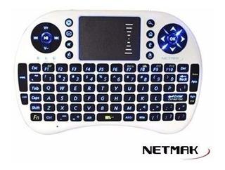 Mini-teclado Tv Android Smart Tv Control Netmak Nm Kb980
