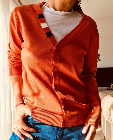 Sweater Cardigan Mujer Buzo Excelente Calidad R10103
