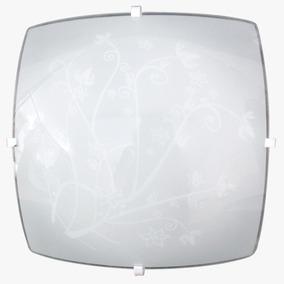 Luminária Sobrepor Com C/ Led - Kt 5 Peças