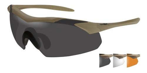 Óculos Balístico - Wx Vapor - Bege Fosco - Wiley X
