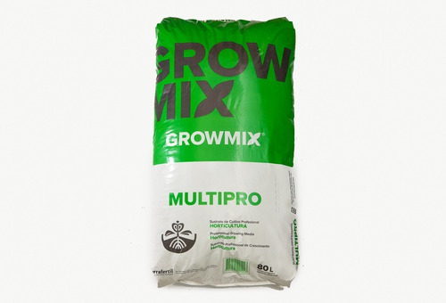 Sustrato Profesional, Grow Mix Multipro 80lts.