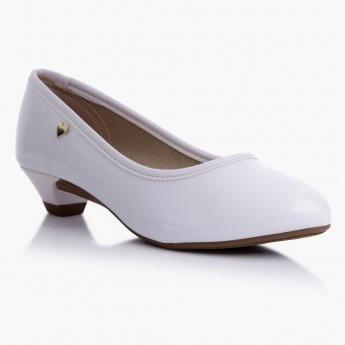 Zapatos Molekinha En Blanco Con Taco Separado.hermosos!
