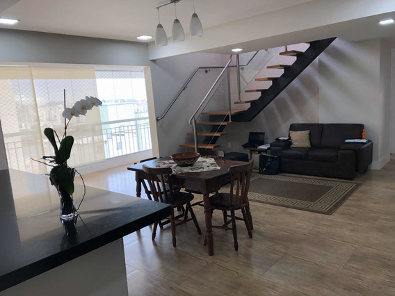 Cobertura Duplex Na Mooca, 177m2, 3 Dormitórios, 2 Vagas
