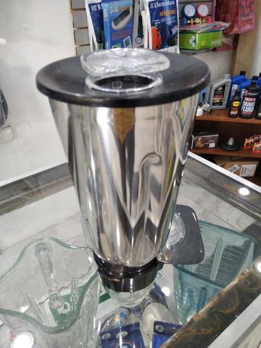 Vaso Universal Acero Inoxidable Licuadora Oster Tapa Y Rosca