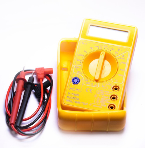 Tester, Multímetro Digital Con Protector