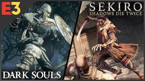 Dark Souls 3 + Sekiro + Brinde (xbox One)