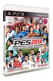 Juego Pro Evolution Soccer 2014 Ps3 Nuevo