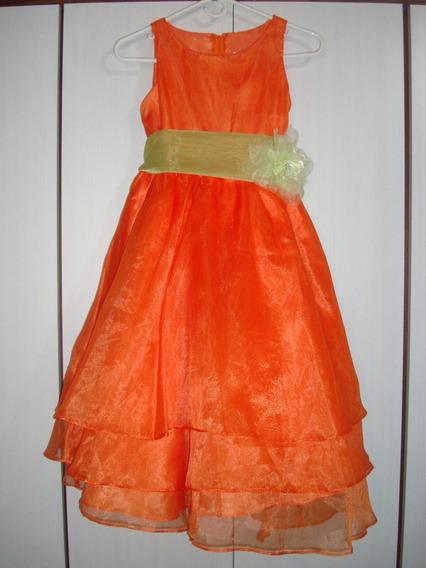 Vestido De Fiesta De Niña Talla 12