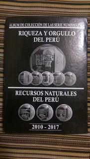 Álbum Orgullo Y Riqueza Del Peru Todas Las Monedas
