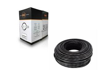 Bobina 305m Cable Utp Exterior Glc Ce 1103 Categoria 5e