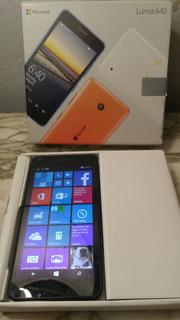 Celular Microsoft Lumia 640 Con Carcaza, Impecable