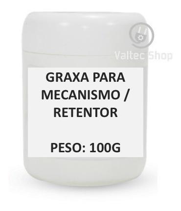 Graxa Branca Para Mecanismo Retentor Rolamento Borracha 100g