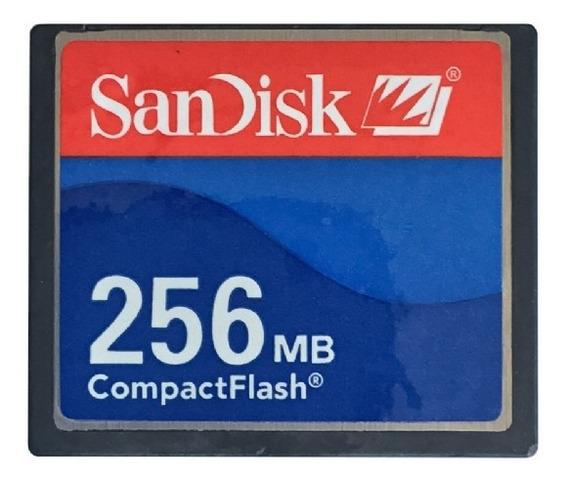 Cartão De Memória Compact Flash (cf) Sandisk 256mb