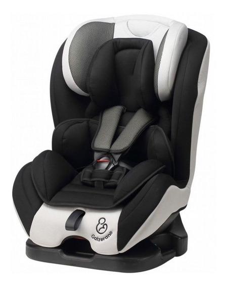 Cadeira Auto Long Life Preto Cinza 0-36kg Reclinável Galzerano