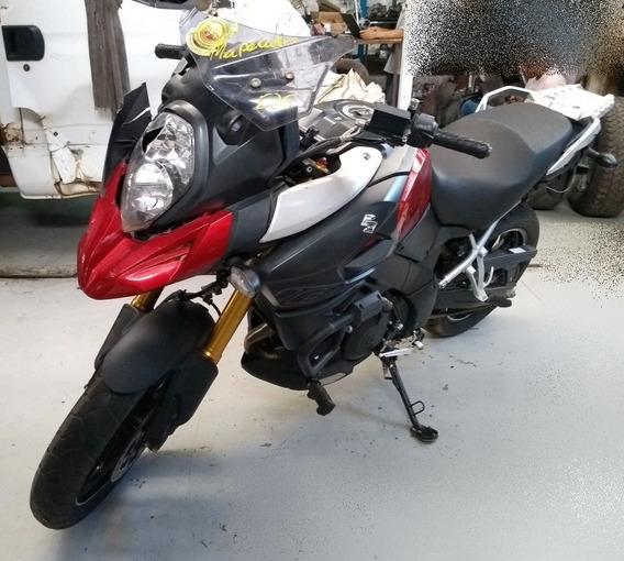 Retirar Peça Suzuki V-strom Motor 1000cc 2015 Sucata Peças