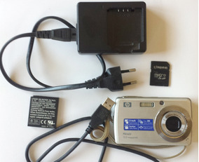 Camera Digital Hp Pb360t 12.0 Megapixels (usada)+ 4gb Touch