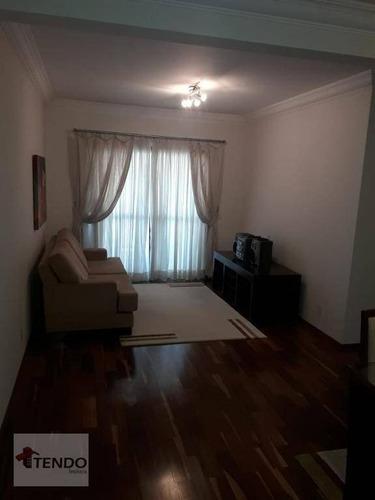 Imagem 1 de 17 de Imob01 - Apartamento 115 M² - Venda - 3 Dormitórios - 1 Suíte - Campestre - Santo André/sp - Ap2241