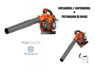 Sopladora - Aspiradora Husqvarna 125bvx - Trituradora