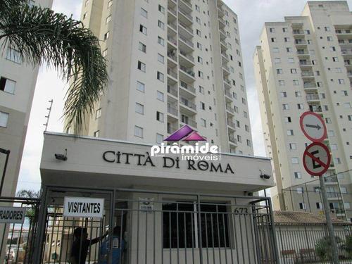 Apartamento Com 3 Dormitórios À Venda, 68 M² Por R$ 318.000,00 - Jardim Augusta - São José Dos Campos/sp - Ap9518