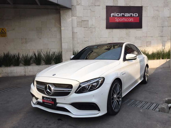 Mercedes-benz Clase C 4.0 63 Amg At 2017