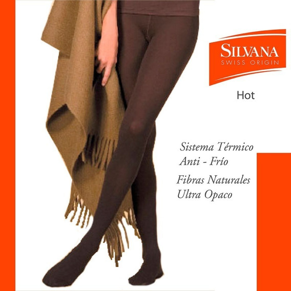Medias Silvana Hot 7255 Termicas