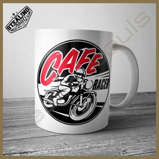 Taza - Cafe Racer / Bobber / Brat / Chopper / Scooter #002