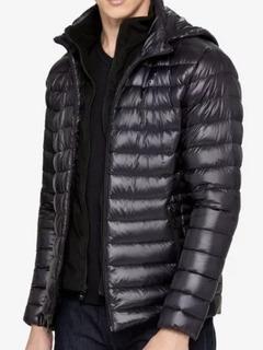 Campera De Pluma Calvin Klein Usa Con Capucha Inflable