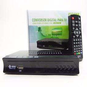 Conversor Digital Para Tv Visor Led Hdmi E Usb