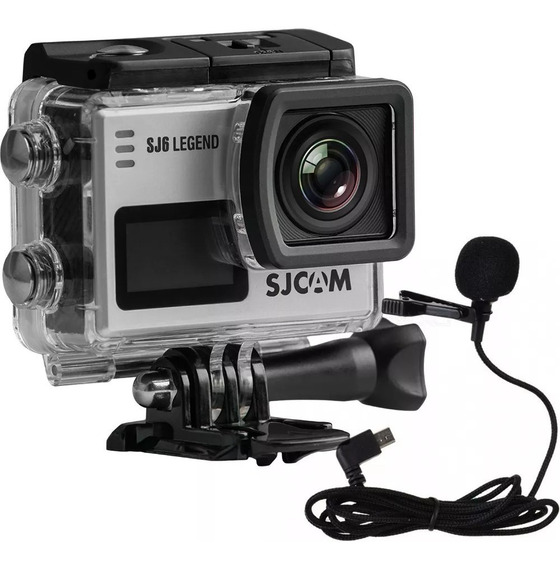 Action Cam Sjcam Sj6 Legend 4k Wifi 16mp + Mic. + Cartão Sd