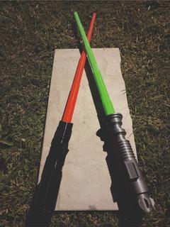 Sable Star Wars Lightsaber Jedi Sith Retractil Impresión 3d