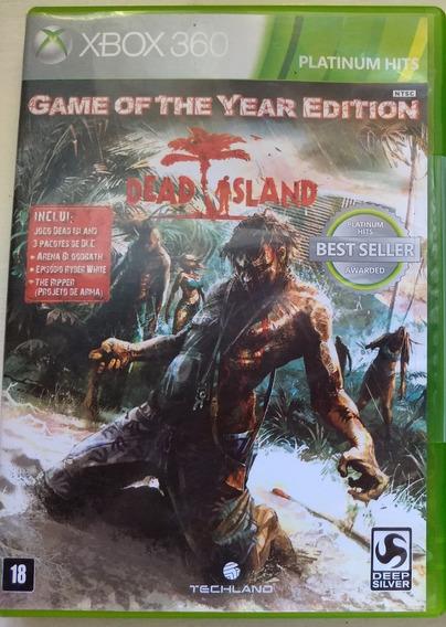 Dead Island - Original Xbox 360 Midia Fisica Semi-novo