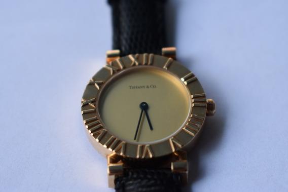 Reloj Tiffany & Co Atlas Oro 18 Kilates 100% Original