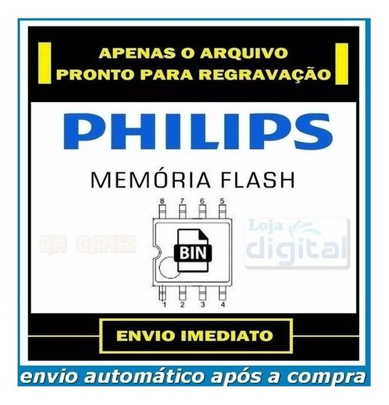 Dados De Memória Eprom Flash Bios Tv Philips 32pfl3008d/78