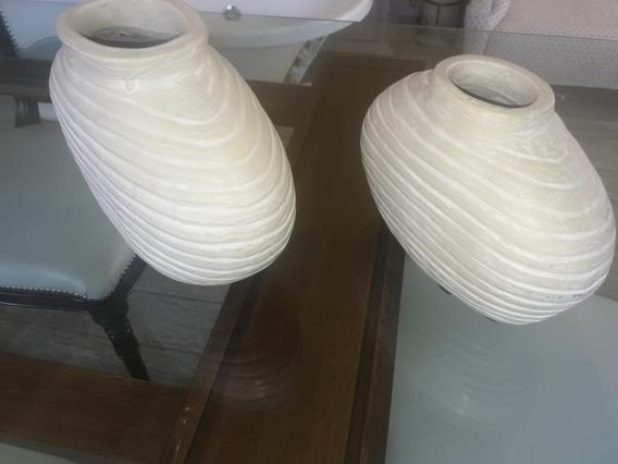 Par De Jarrones De Ceramica