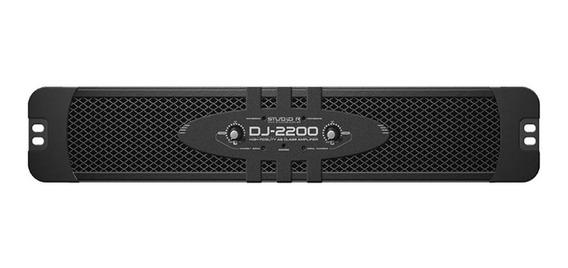 Amplificador De Potência Studio R Dj-2200 2 Ohms 2200 Wrms