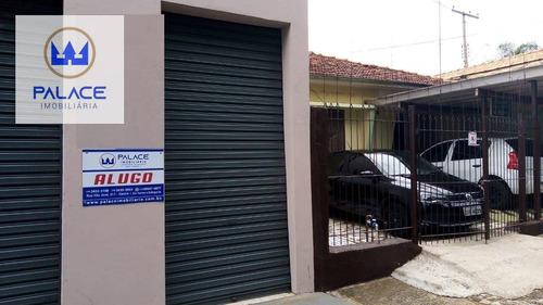 Salão Para Alugar, 152 M² Por R$ 1.700,00/mês - Vila Monteiro - Piracicaba/sp - Sl0137